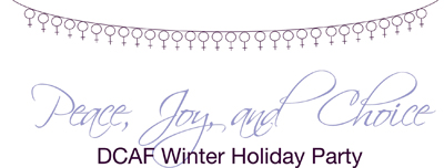 DCAF Holiday Party Logo